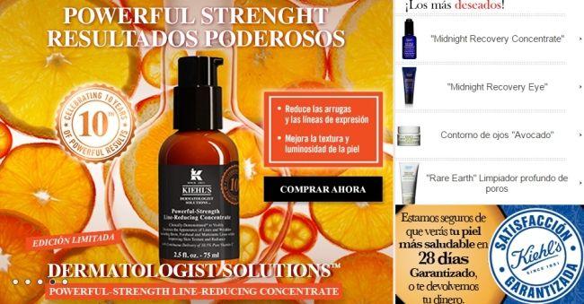 cosmeticos online kiehls