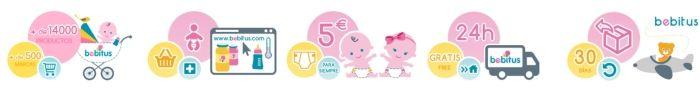 bebitus y las razones para comprar en su tienda de cosas de bebes